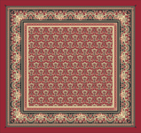 Graphic of reproduction Lt. S. Millet Thompson handkerchief