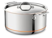 All-Clad Copper Core Irregular 8-Quart Stock Pot with Lid