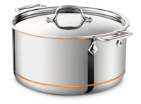 All-Clad Copper Core Irregular 8-Quart Stock Pot with Lid
