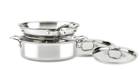 All Clad D3 Compact Stainless Steel 5 pc  Cookware Set