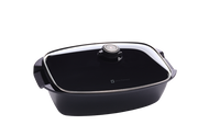 Swiss Diamond HD 5.3 Qt. Non-Stick Roaster Pan with Lid