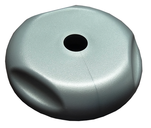 Jacuzzi diverter valve cap top view