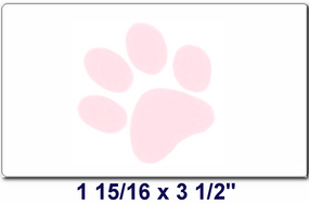 Cornerstone PAW Labels/ 1 Roll (400 labels)