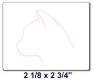 CAT Labels / Box of 6 Rolls (3000 labels)