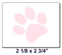 PAW Labels/ Box of 6 Rolls (3000 labels)