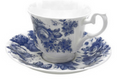 Blue Chintz  Cup & Saucer
