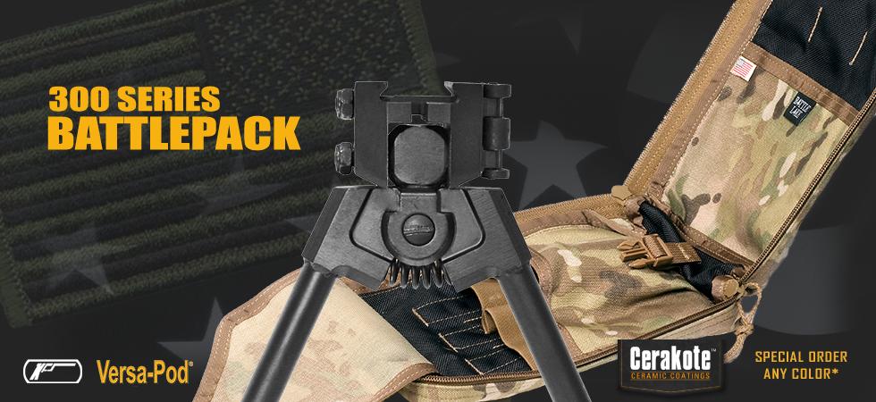300 Series Battlepack Bipod