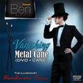 Vanishing Metal Cane (Black) by Taiwan Ben Magic