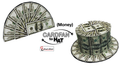 Fan to Hat (Money) by Sumit Chhajer