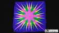 36 Inch Production Silk (Star Burst) by Mr. Magic