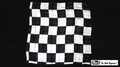 21 Inch Production Silk (Black and White Chess Board) by Mr. Magic