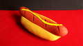 Sponge Hot Dog with Mustard  by Alexander May