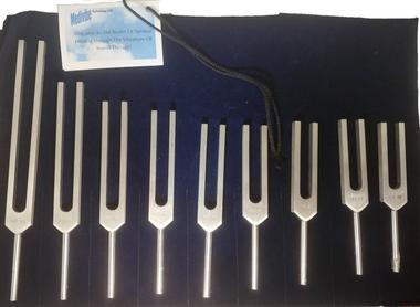 Mirror/Reverse Solgeggio Tuning Fork Set