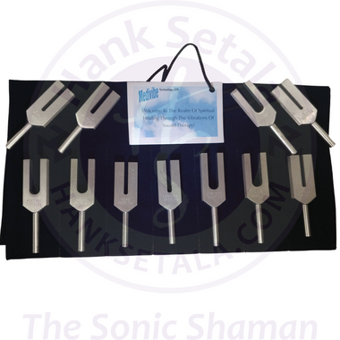 Ultra High Planetary Tuning Fork Set