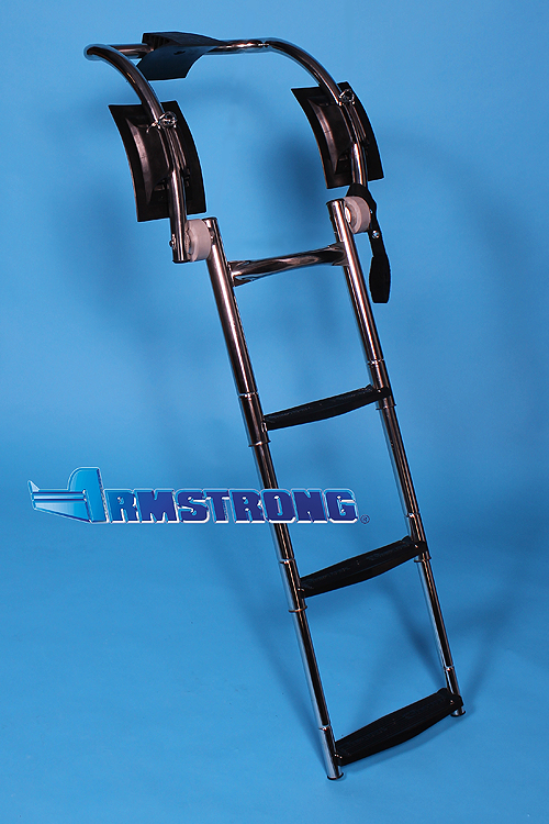 "RIB Ladder - 3 steps 37 Inch Length - Fits Tube 19""-20"" Diameter"