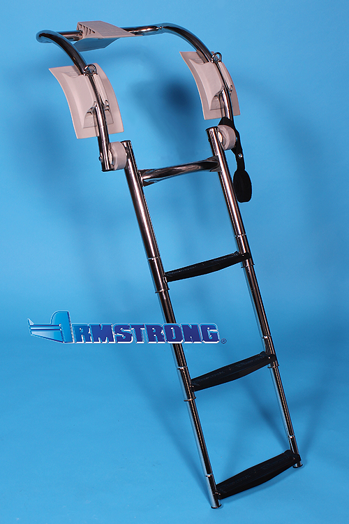 "RIB Ladder - 3 steps 37 Inch Length - Fits Tube 16""-18"" Diameter"