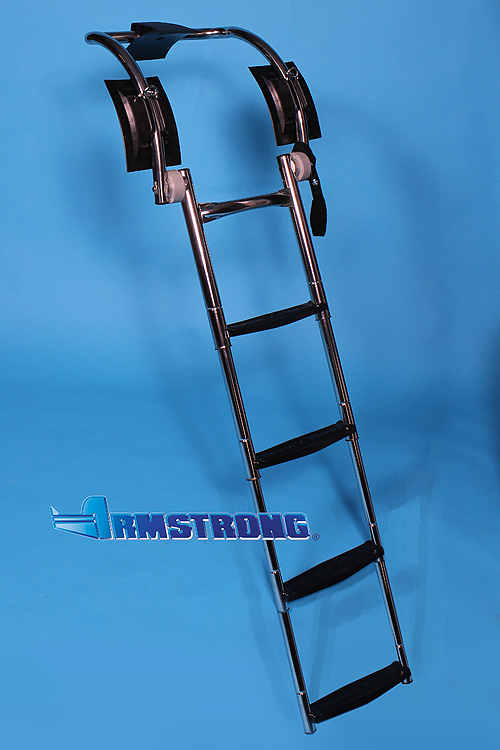 "RIB Ladder - 4 Steps 48 Inch Length - Fits Tube 23""-24"" Diameter"