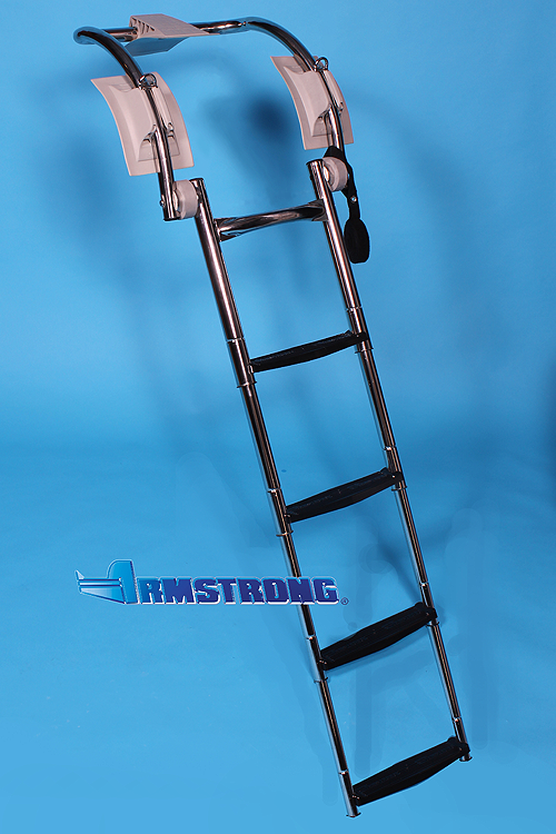"RIB Ladder - 4 steps 48 Inch Length - Fits Tube 21""-22"" Diameter"