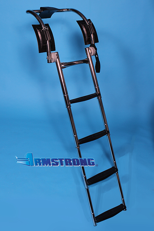 "RIB Ladder - 4 Steps 48 Inch Length - Fits Tube 19""-20"""