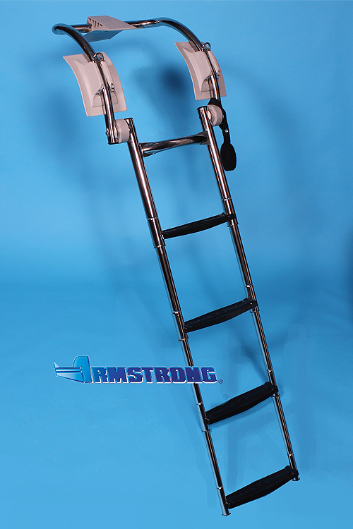 "RIB Ladder - 4 steps 48 Inch Length - Fits Tube 16""-18"" Diameter"