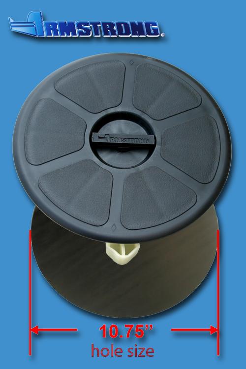 Deck Plate - 10 round - Black