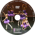 Gainesville School of Ballet 2014 Recital: Sunday 5/18/2014 2:00 pm close-up and wide angles DVD