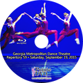 Georgia Metropolitan Dance Theatre Repertory 59: Saturday 9/19/2015 7:30 pm Blu-ray