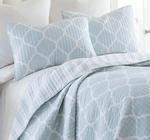 Levtex Oxford Ice Blue Pillow Sham Set