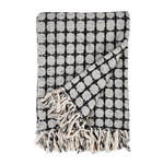 Pom Pom at Home Dexter Linen Throw - Charcoal
