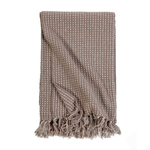 Pom Pom at Home Jasper Oversized Throw  - Taupe