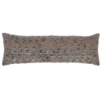 Pom Pom at Home Avalon Handwoven Pillow - Brown/Grey
