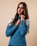 Giacca Half-Zip Alpaca Sweater
