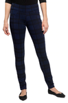 Yala Blake Skinnies - Navy Plaid