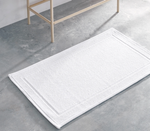 Kassatex Athens Bath Rug - White