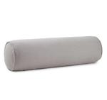 Peacock Alley Mandalay Linen Bolster Pillow - Grey