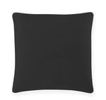 Peacock Alley Mandalay Linen Square Pillow - Black