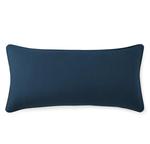 Peacock Alley Mandalay Linen Oblong Pillow - Navy