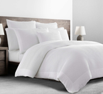 Kassatex Mercer Pillow Sham - White