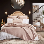 Orchids Lux Home Dana Blanket - Lavender