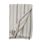 Pom Pom at Home Kelsey Oversized Throw - Ivory/Taupe