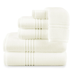 Peacock Alley Chelsea 6 PC Towel Set - Ivory