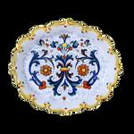 Sambuco Ruff Oval Tray 33cm - Ricco Deruta