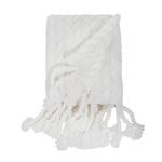 Pom Pom at Home Capistrano Throw - Winter White