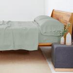Pom Pom at Home Linen Sheet Set - Sage