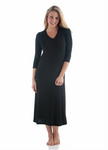 BambooDreams Haley Long Gown - Black
