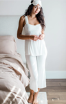 BambooDreams Cleo Pajama Set - Natural
