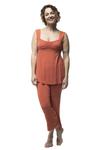 BambooDreams Cleo Pajama Set - Sienna