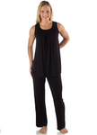 BambooDreams Delia PJ Set - Black