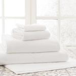 Pine Cone Hill Signature Towel - White