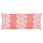 Pine Cone Hill French Knot Coral Decorative Pillow